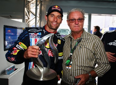 Having Dad there for my first win made it even more special.