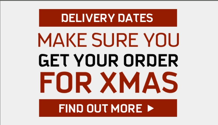 Get your order for Christmas