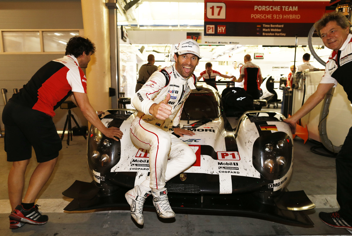 FIA WEC 2015: 6 Hours of Bahrain<br /> Porsche Team: Mark Webber