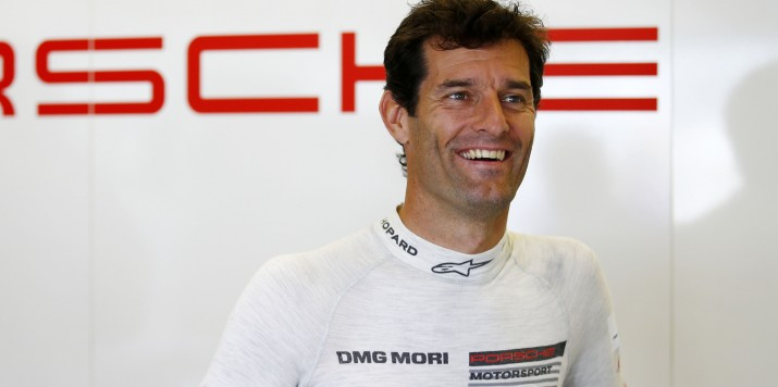 Porsche Team: Mark Webber,