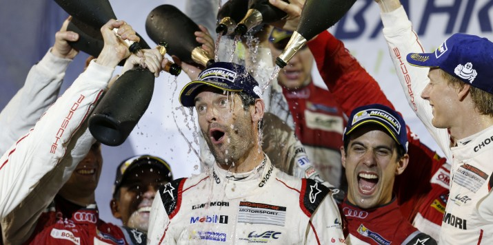 Porsche Team: Mark Webber Porsche Team: Mark Webber